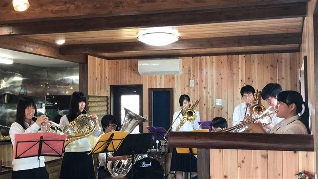 ミニコンサート管楽器